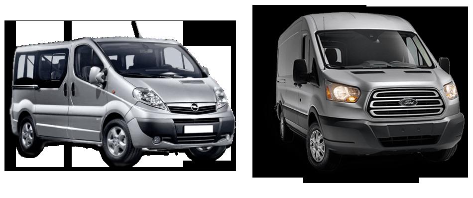 Noleggio furgoni e pulmini e auto in provincia di Cuneo